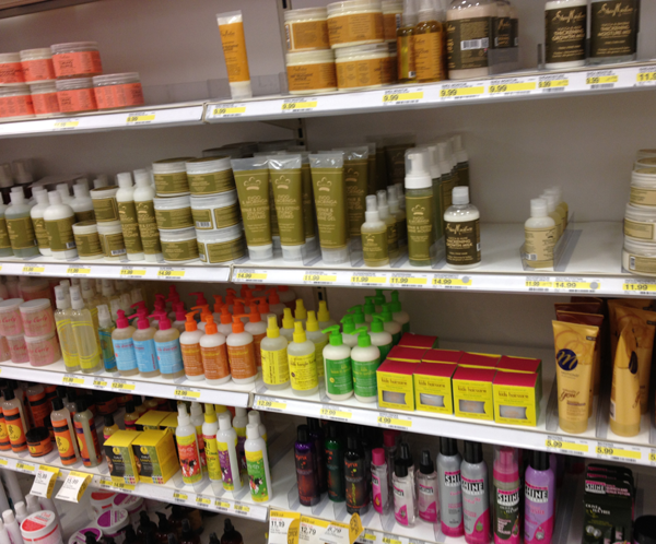 products aisle